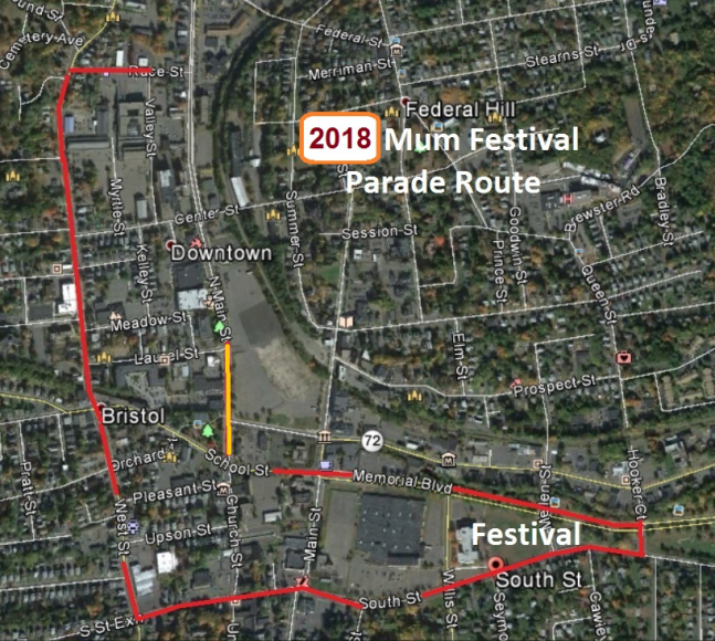 Parade Route - 2018
