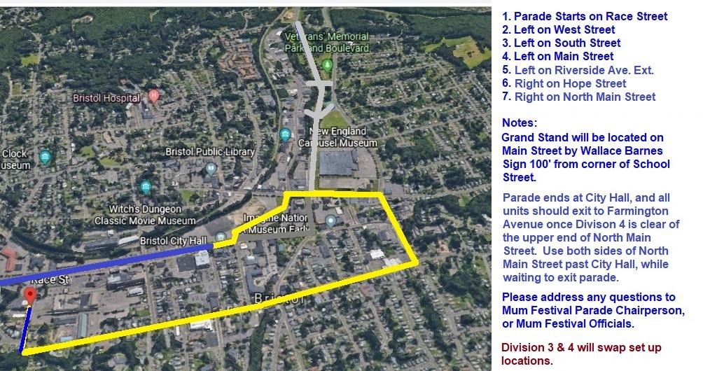 2020 Parade Route - Plan D